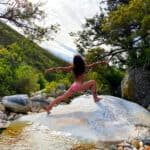 Benefits of yoga in nature